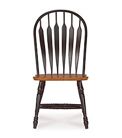 International Concepts Windsor Steambent Arrowback Wood Chair