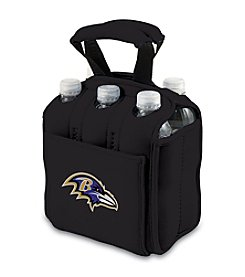 Picnic Time NFL® Baltimore Ravens Six-Pack Insulated Holder