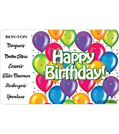 Gift Card - Birthday Balloons