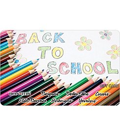 Gift Card - Back To School Pencils