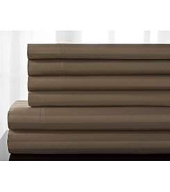 Elite Home Products Delray Stripe 600-Thread Count Cotton Rich 6-pc. Sheet Sets