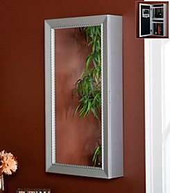 Southern Enterprises Chloe Wall-Mount Jewelry Mirror