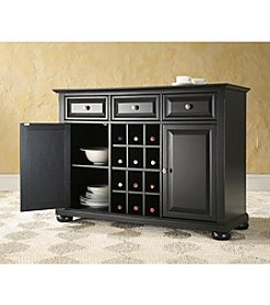 Crosley Furniture Alexandria Buffet Server with Wine Storage