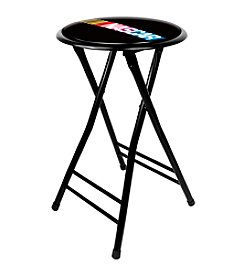 "NASCAR® 24"" Cushioned Folding Stool"