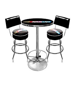 NASCAR® Game Room Combo Table and Backed Stool Set