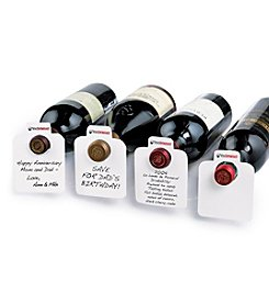 Wine Enthusiast 100 Oversized Reusable Wine Bottle Tags