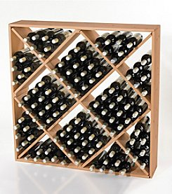 Wine Enthusiast Jumbo Bin 120-Bottle Wine Rack