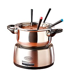 Nostalgia Electrics™ Stainless Steel Electric Fondue Pot