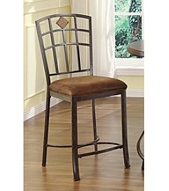 Acme Set of 2 Tavio Earthen Counter Chair