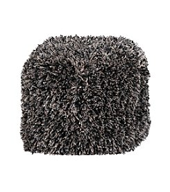 Chic Designs Square Shag Pouf
