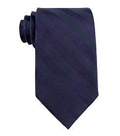 John Bartlett Statements Men's Solid Tonal Stripe Neck Tie