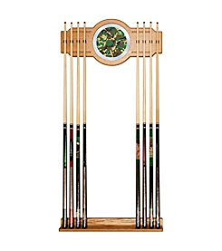 Trademark Global Hunt Camo Billiard Cue Rack with Mirror Inlay