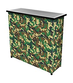 Trademark Global Hunt Camo Portable Bar with Case