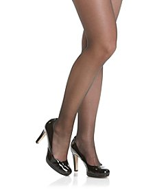 Hanes® Silky Sheer Sandalfoot Pantyhose with High Waist Control Top