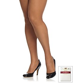 Hanes® Plus Size Silky Sheer Reinforced Toe Pantyhose with Control Top