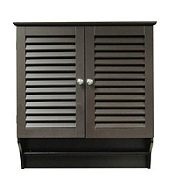 RiverRidge Home Products Ellsworth Espresso Two Door Wall Cabinet