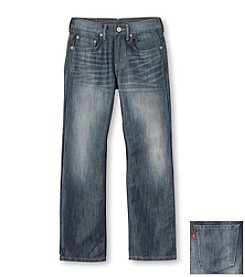Levi's® 514™ Boys' 8-20 Straight Denim Blue Jeans
