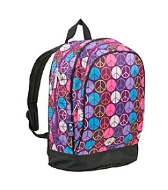 Wildkin Purple Peace Sign Sidekick Backpack