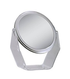 Zadro Dual Sided Swivel Vanity Mirror with 1x & 7x Magnification
