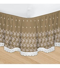 Veratex® HUYS Adjustable Embroidered Bed Skirt