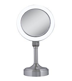 Zadro Dual Sided Surround Light Vanity Mirror with 1x & 10x Magnification