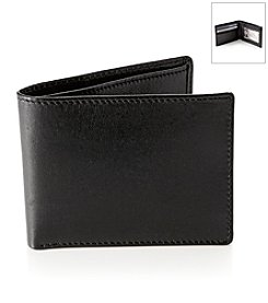 Perry Ellis Portfolio® Men's Black Gramercy Slimfold Wallet