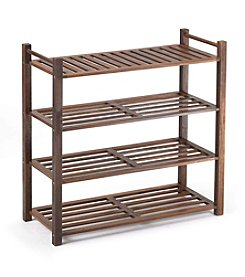 Merry Products™ 4-Tier Outdoor Shoe Rack