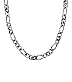 Figaro Stainless Steel Link Chain