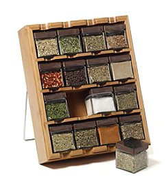 Kamenstein® 16 Cube Bamboo Inspirations Spice Rack