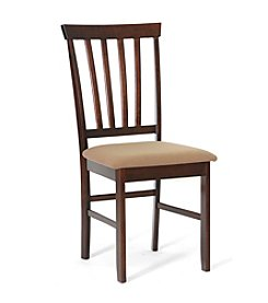 Baxton Studios Set of 2 Tiffany Brown Modern Dining Chairs