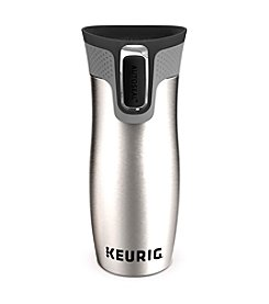 Keurig® Stainless Steel Leak and Spill-Proof Travel Mug