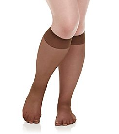Berkshire® Queen All Day Sheer Knee Highs - Sandalfoot