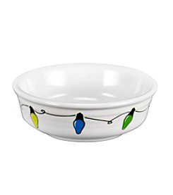 Fiesta® Dinnerware Christmas Lights Small Bowl