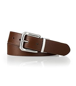 Lauren® Men's Brown Casual Reversible Leather Belt
