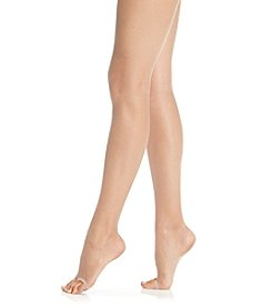 HUE® Lace Panty Toeless Pantyhose
