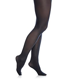 HUE® Navy Opaque Tights