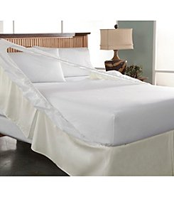 Perfect Fit® Ecru Bedskirt and Boxspring Protector