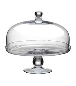 Artland® Simplicity Glass Cake Plate with Dome