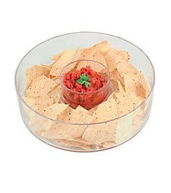 Artland® Simplicity 2-pc. Glass Chip n' Dip Bowls