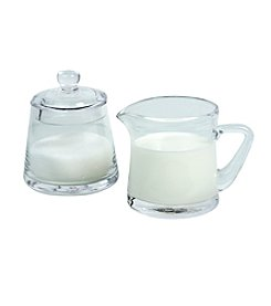 Artland® Simplicity Glass Sugar and Creamer Set