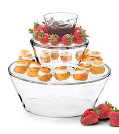 Artland® Simplicty 3-Tier Glass Server