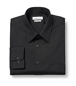 Van Heusen® Men's Black Long Sleeve Dress Shirt