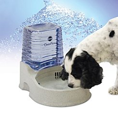 K&H Pet Products Medium Clean Flow Watering Bowl with Reservoir