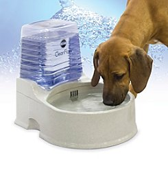 K&H Pet Products Large Clean Flow Watering Bowl with Reservoir