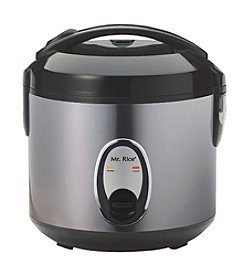 Sunpentown® Medium 6-Cup Stainless Steel Rice Cooker