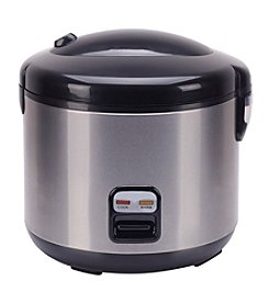 Sunpentown® 10-Cup Stainless Steel Rice Cooker