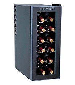 Sunpentown® 12-Bottle Thermo-Electric Slim Wine Cooler