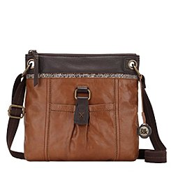 The Sak® Kendra Brown Snake Print Crossbody