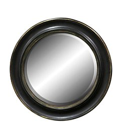 Sheffield Home® Black Round Mirror