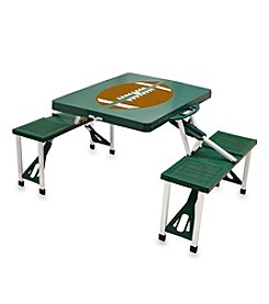 Picnic Time® Folding Table With Seats - Football